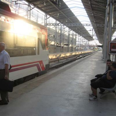 Train station Maria Zambrano