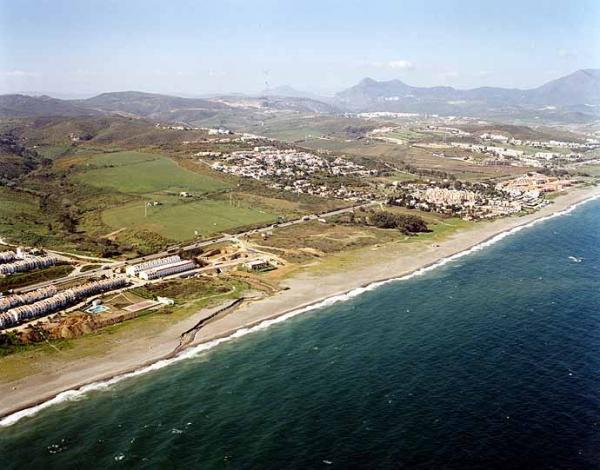 Negro beach in Manilva