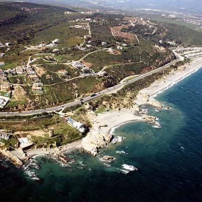 Chullera beach aerial view