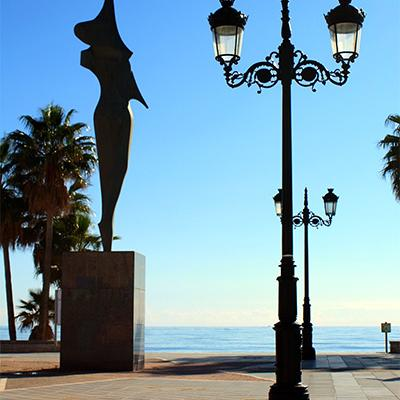 Guadalmina promenade and monument