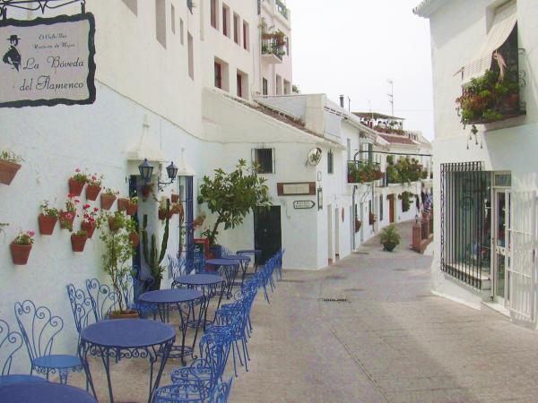 Typical andalusian streen in Mijas 24