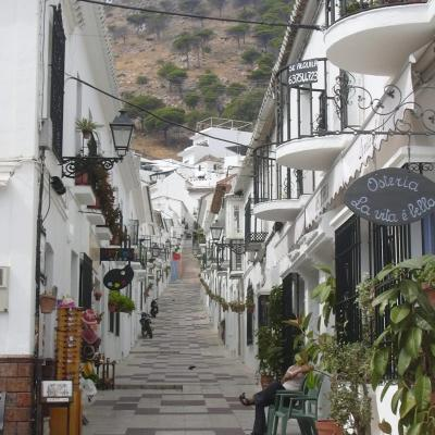 Typical andalusian street in Mijas 23