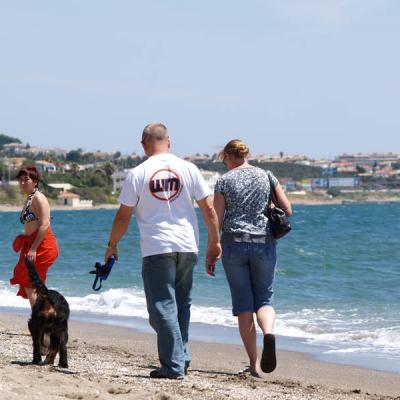 Mijas beach walking picture 31