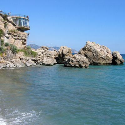 Nerja beach, Cove & Viewpoint