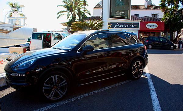Luxury Cars Puerto Banus