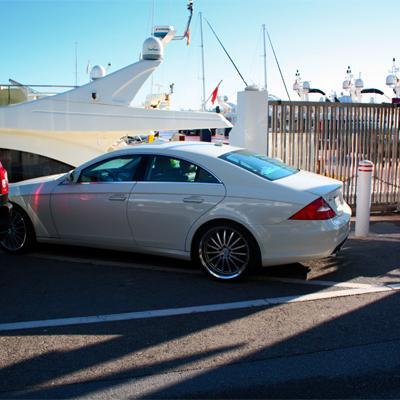Mercedes in Puerto Banus