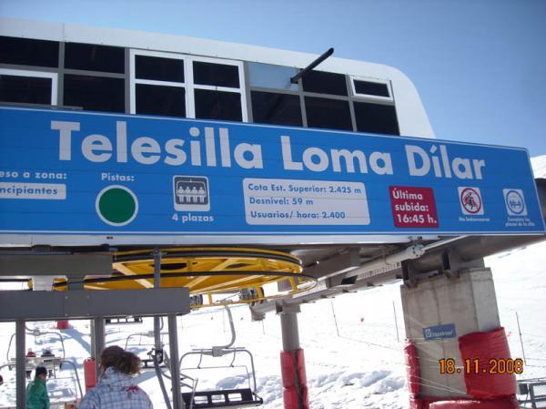 Loma Dilar ski ChairLift  nº3