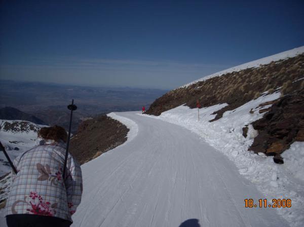 Skiing in Sierra Nevada 36