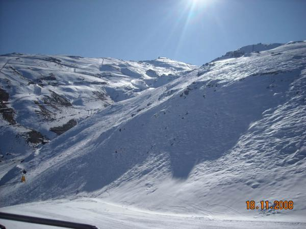 Sierra Nevada skiing picture