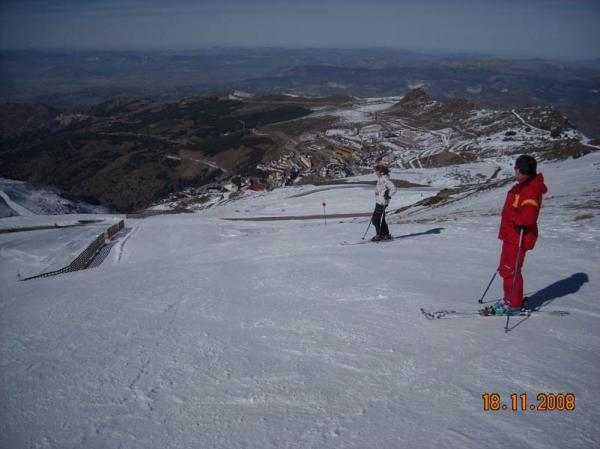 Sierra Nevada skiing picture nº3
