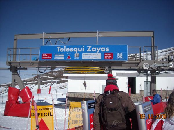 Zayas chairlift photo