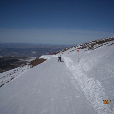 Skiing in Sierra Nevada 38