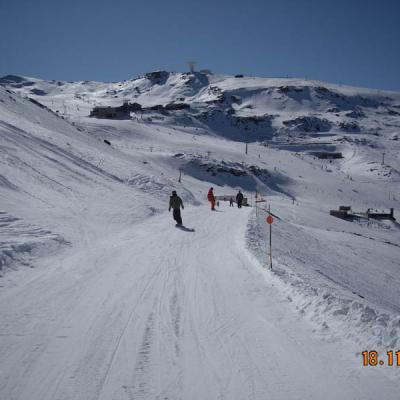 Pista es esquí