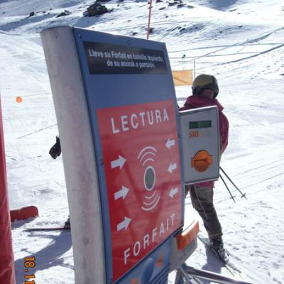 Sierra Nevada ski pass picture