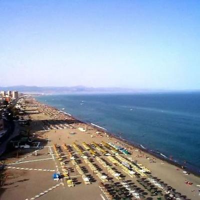 Torremolinos beaches aerial view 1