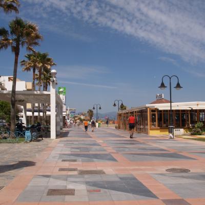 La Carihuela promenade