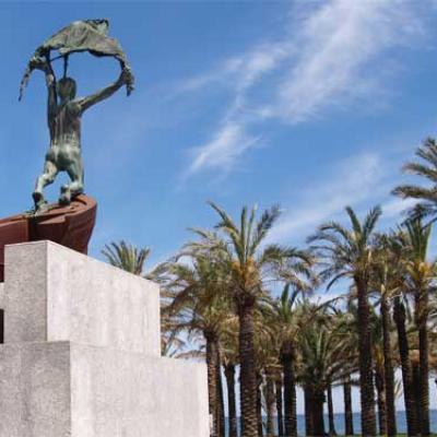 El Remo monument - April 29, 2008
