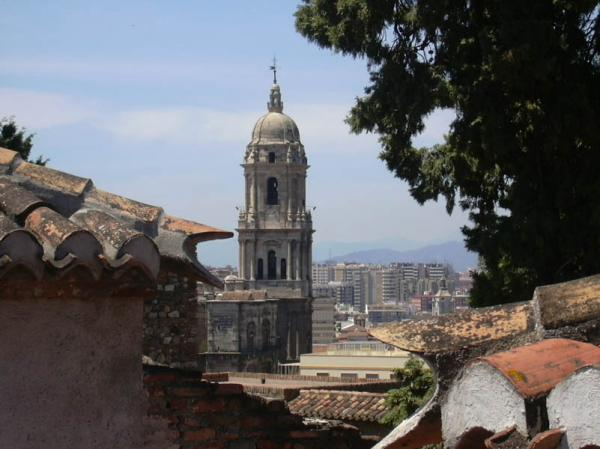 Cathedral from the Alcazaba