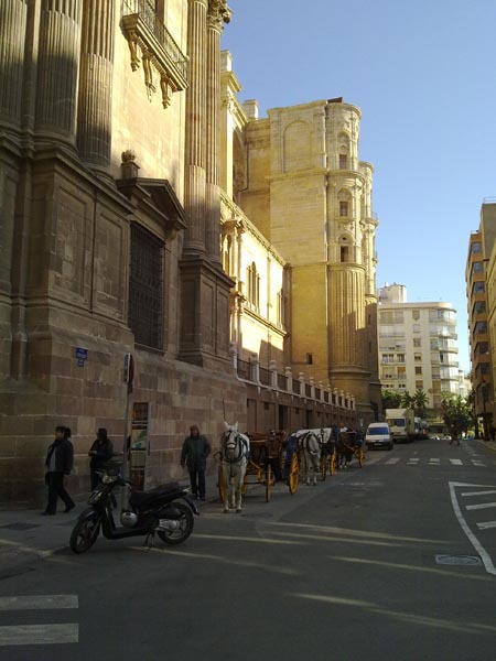 Malaga cathedral side picture 13