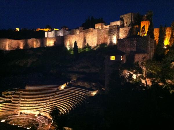 Roman theatre by night 7