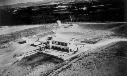 Malaga airport 1948