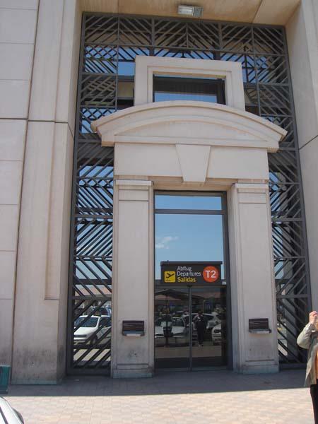 Malaga airport T2