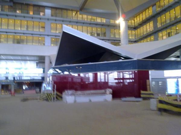 Malaga airport T3 development