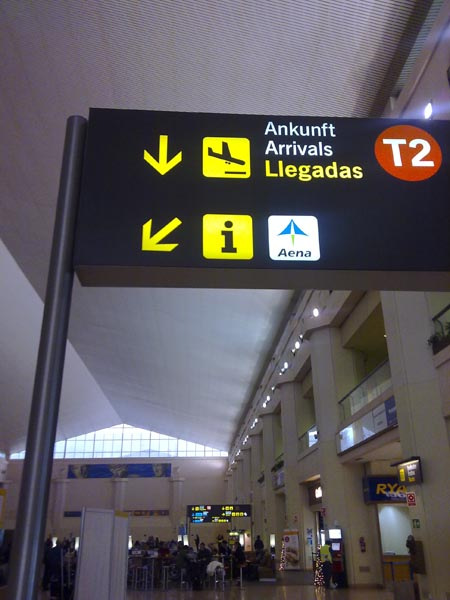 Malaga airport t2 nº19