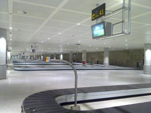Malaga airport arrivals T3 nº24