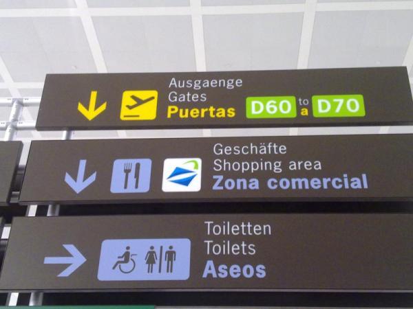 Malaga airport signals nº29