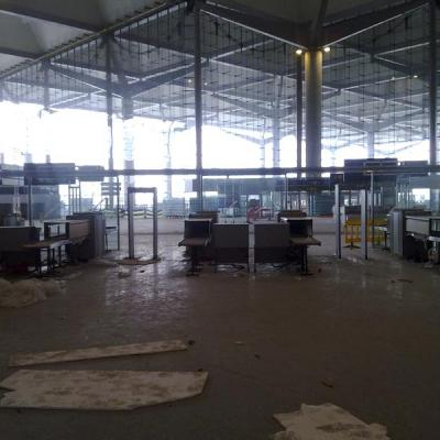 Malaga airport departures T3