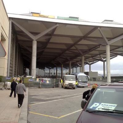 Malaga airport T3 exterior