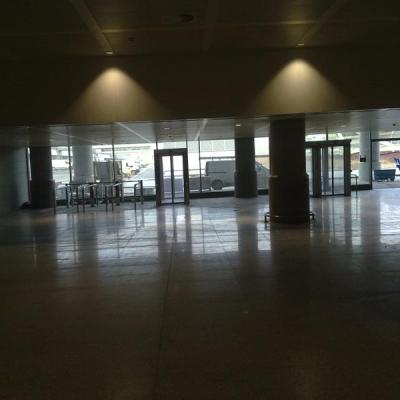 Malaga airport T3 hall 9