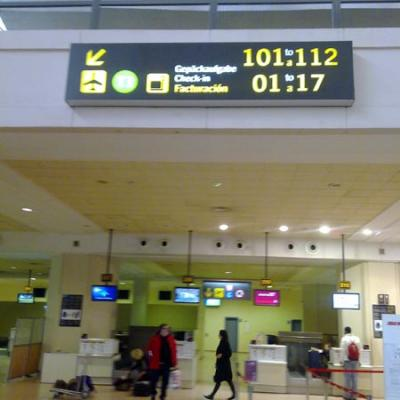 Check-in Malaga airport nº28