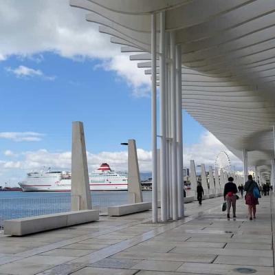 Palmeral de las Sorpresas (Malaga Port)