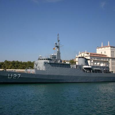 U27 in Malaga Port 3