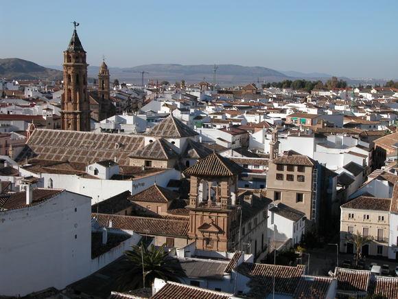 Photo of Antequera city