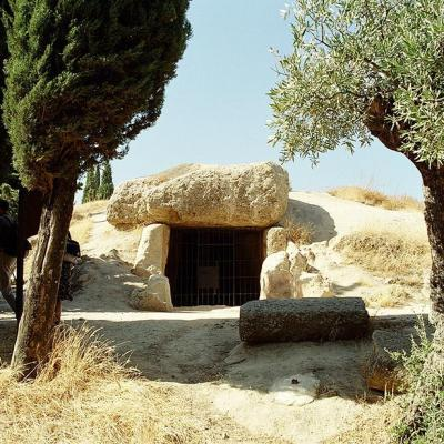Photo of Menga Dolmen in Antequera