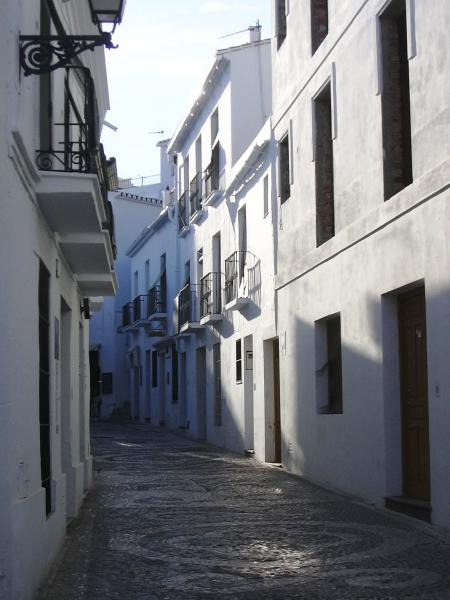 Frigiliana narrow streets 1